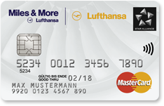 Miles & More Credit Card White