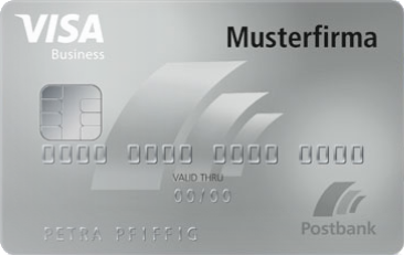 Postbank Visa Business Card Gold