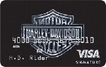 Santander Harley Chrome Card